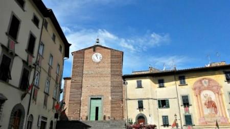 Collegiata e San cristoforo Piazza Vittorio Veneto Fucecchio