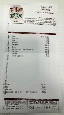 Ristorante Adriano a Cerreto Guidi