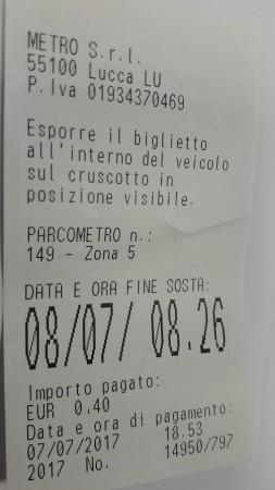 Parcheggio Lucca Mura Stazione