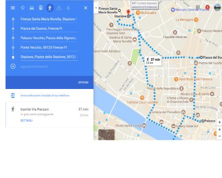 Come vedere i monumenti più importanti di Firenze in 37 minuti!