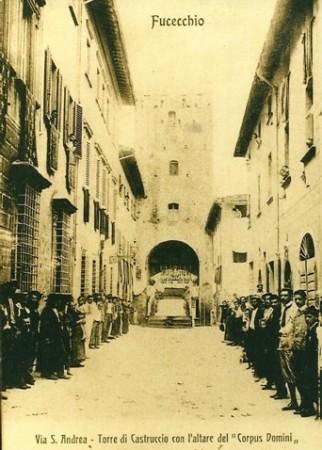La torre di via Castruccio Castracani a Fucecchio