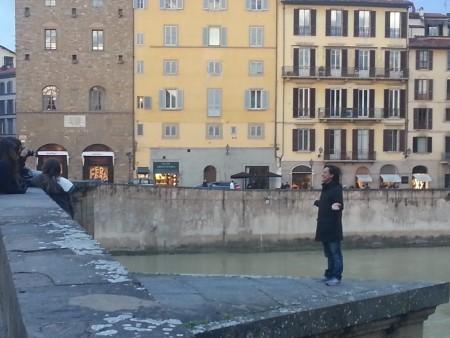 Touriste - comportament incorrect, Firenze Santa Trinita