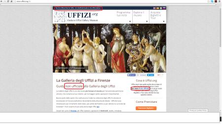 Biglietti Musei Fiorentini Galleria Uffizi